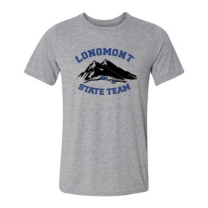 Longmont State Team - Light Youth/Adult Ultra Performance Active Lifestyle T Shirt