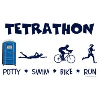 porta potty triathlete tetrathon women