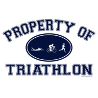 Property of Triathlon Women Tri Icons