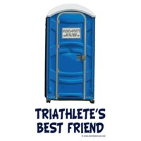 porta potty triathlete s bestfriend