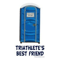 porta potty triathlete s bestfriend sm