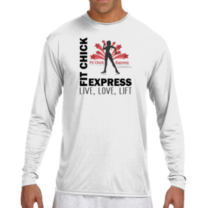 Live, Love, Lift - (S) Long Sleeve Cooling Performance Crew Light Color Shirt