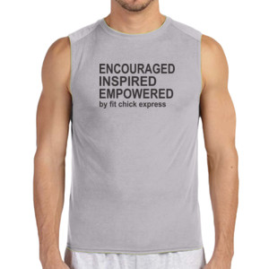 Encouraged, Inspired, Empowered - (S) Performance™ 4.5 oz. Sleeveless Light Color T-Shirt