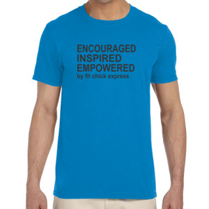 Encouraged, Inspired, Empowered - Adult Softstyle® 4.5 oz. Heather Color T-Shirt (S)