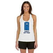Runner's Best  Friend Porta Potty  - ALO Women's Mesh Back Tank
