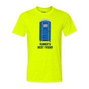 Runner's Best  Friend Porta Potty  - Light Youth Ultra Performance 100% Performance T Shirt