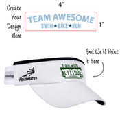 Team Awesome - Headsweat Visor