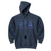 LWW Adult Hooded Sweatshirt