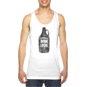 Drink Local Longmont Colorado - American Apparel Unisex Sublimation Tank