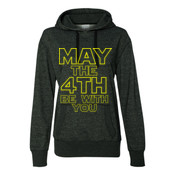 May the 4th Be With You - Glitter Hoodie