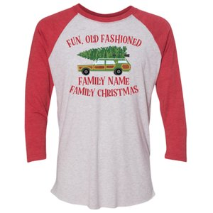 Fun Old Fashioned Family Christmas Shirt