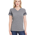 LAT Ladies' Football Fine Jersey T-Shirt