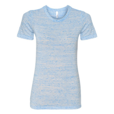 I heart my Triathlete - (S) Ladies' Cotton/Polyester T-Shirt