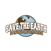 Save the earth the only planet with triathlon