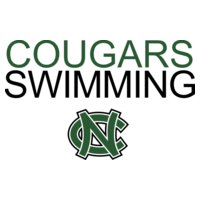 Cougars SWIMMING with NC logo   DN