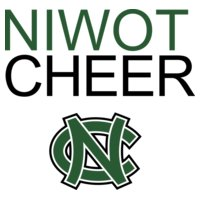 Niwot CHEER with NC logo   DN