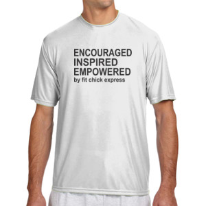 Encouraged, Inspired, Empowered - (S) Shorts Sleeve Cooling Performance Crew Light Color Shirt
