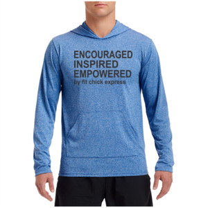 Encouraged, Inspired, Empowered - Performance Hooded Pullover (S)
