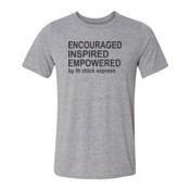 Encouraged, Inspired, Empowered - Light Youth/Adult Ultra Performance Active Lifestyle T Shirt
