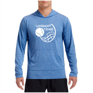 LT Boys Tennis - - Performance Hooded Pullover (S)