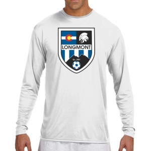 LHS Shield - (S) Long Sleeve Cooling Performance Crew Light Color Shirt