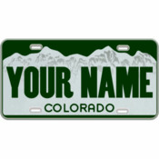 Colorado Custom Mini-License Plate