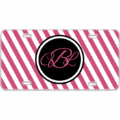 Monogram Custom Mini License Plate Stripes - You Make It