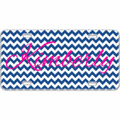 Custom Mini License Plate Chevron - You Make It