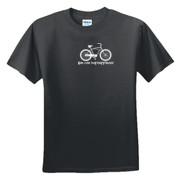 You Can Buy Happiness Men's Cruiser Bike - DryBlend™ 50 Cotton/50 DryBlend™Poly T Shirt