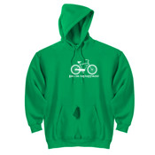 You Can Buy Happiness Men's Cruiser Bike - DryBlend™ Pullover Hooded Sweatshirt