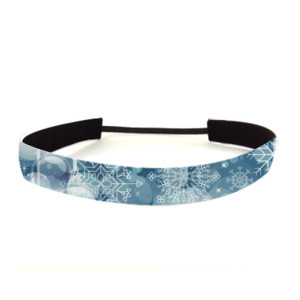 Ornament Snowflake - Non Slip Adjustable Headband