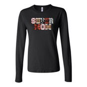 Super Mom with Favorite Player - Bella Long Sleeve Crew Tee