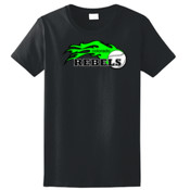 Colorado Rebels Lime - Ladies Ultra Cotton™ 100% Cotton T Shirt 2