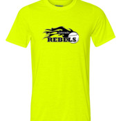 Rebels - Black - Youth Ultra Performance 100% Performance T Shirt 2