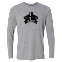 Mister Money Mustache - Light Youth Long Sleeve Ultra Performance Active Lifestyle T Shirt
