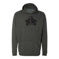 Mister Money Mustache - Tailgate Hoodie with Koozie & Bottle Opener