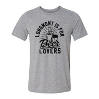 Longmont is for Beer Lovers - Light Youth/Adult Ultra Performance Active Lifestyle T Shirt