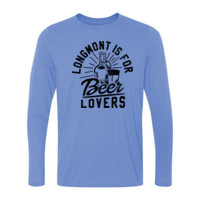 Longmont is for Beer Lovers - Light Ladies Long Sleeve Ultra Performance Active Lifestyle T Shirt