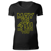 May the 4th Be With You - Bella Favorite T-Shirt