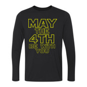 May the 4th Be With You - Ladies Long Sleeve Ultra Performance 100% Performance T Shirt