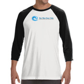 New Wave Power Talks - ALO 100% Performance Unisex Baseball T-Shirt