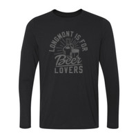 Longmont Is For Beer Lovers - Long Sleeve Ultra Performance 100% Performance T Shirt
