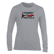 Redtails - Light Ladies Long Sleeve Ultra Performance Active Lifestyle T Shirt