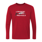 Redtails - Youth Long Sleeve Ultra Performance 100% Performance T Shirt