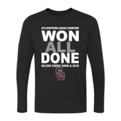 2018 NL Champions - Youth Long Sleeve Ultra Performance 100% Performance T Shirt