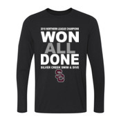 2018 NL Champions - Long Sleeve Ultra Performance 100% Performance T Shirt