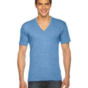 Unisex American Apparel Triblend V-Neck T-shirt Thumbnail