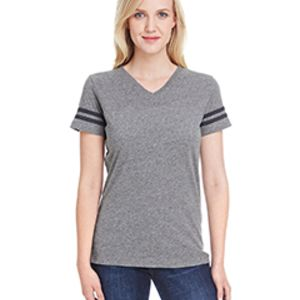 LAT Ladies' Football Fine Jersey T-Shirt Thumbnail