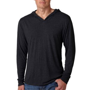 Adult Triblend Long-Sleeve Hoody Thumbnail