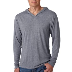 Adult Triblend Long-Sleeve Hoody (S) Thumbnail